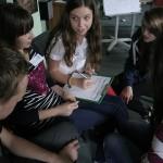 Uczniowie projektują eko-szkołę przyjazną klimatowi.