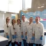 W laboratorium chemicznym. Fot. Iwona Sikorska-Dymanus