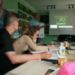 Lokalni Liderzy Klimatyczni przez wszystkie 3 dni pilnie notowali niezwykle ciekawe informacje prezentowane przez wykładowców.