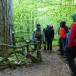 W Białowieskim Parku Narodowym nie trzeba wyznaczać pomników przyrody. Ale gdyby to zrobić, pomnikowych drzew byłyby tysiące! Po Parku oprowadził nas Arkadiusz Szymura, dzięki któremu doświadczyliśmy, czym się różni ochrona ścisła od innych form ochrony przyrody.